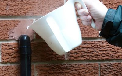 How to fix a frozen boiler condensate pipe